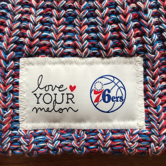 love your melon Accessories - LOVE YOUR MELON 76er sixers limited edition  beanie a49550f4120